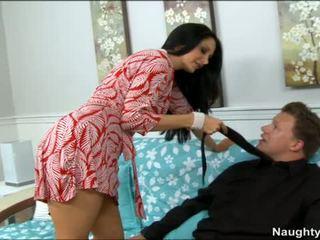 Brunette MILF Bangs Teenaged Boy For Her Pleasure