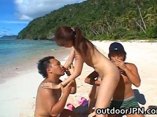 Asami Ogawa Asian Playgirl Receives Bang