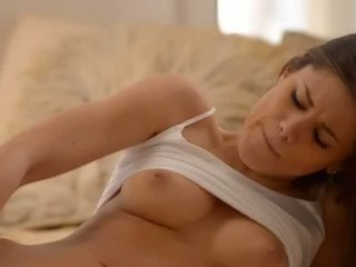 Unbelievable busty babe dildoing