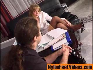 Diana un lesley mindblowing neilons pēdas filma aina