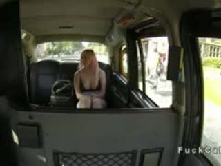 British Redhead Student Fucks In Fake Taxi Pov
