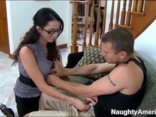 μελαχροινή, γαμημένος, hardcore sex