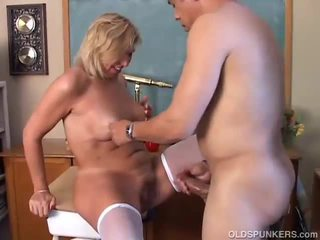 deepthroat, shaved pussy, gagging