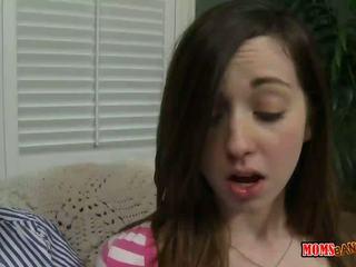 Alexandra silke walks i på suging tenåring