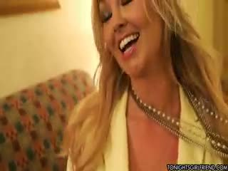 mare sanii mari ideal, nailon, blondă uita-te