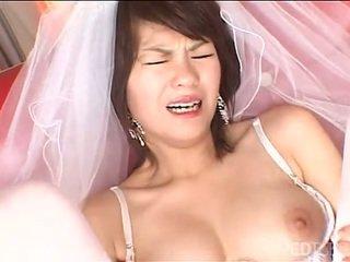 Solo japoneze nuse masturbates