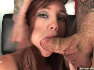 10 Pounder Starved PornStar Dani Jensen Enjoys Playing With A Thick Dick In This Chabr Mouth