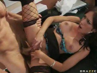 Office Girls In High Heels Having Sex At Work