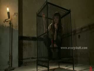 Bigtit beautifull dark haired locked in cell is released before getting fucked in aggressive anal sex
