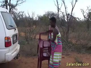 Selvaggia africano safari sesso orgia, gratis selvaggia sesso hd porno 33