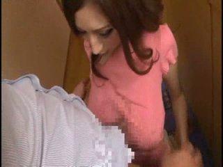 Mosaic: Japanese big tits porn star julia