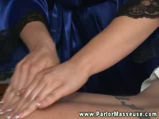 masseuse, masseur, cum in mouth
