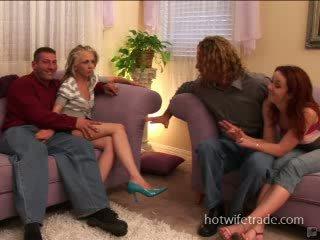 Swinger esposas spermmed en