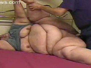 bbw, 奶奶, 脂肪