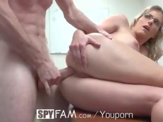 Spyfam Step Son Office Anal Fuck With ...
