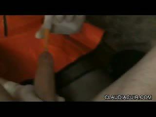Video sado maso dominatrice claudiacuir seance bdsm medicale