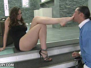 foot fetišs, sexy kājas, footjob