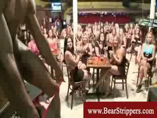 Cfnm sexy stripper kuk fest