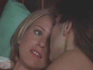 Naomi Watts and Laura Harrington kissing par