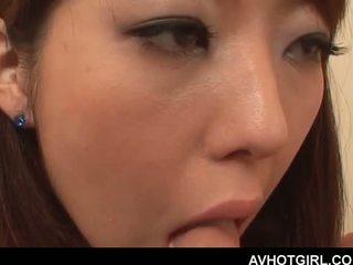 Erótico asiática escola boneca giving broche e getting boo