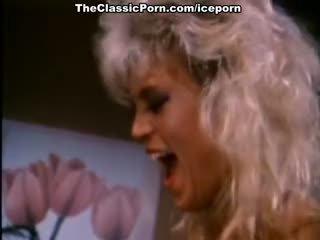 Amber lynn, nina hartley, buck adams in vintage cazzo film