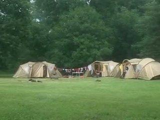 Suzie diamond en une camping