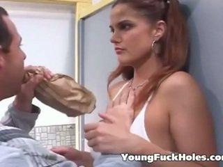 brunetă, tineri, assfucking