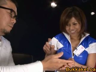Adembenemend slet pine shizuku receives