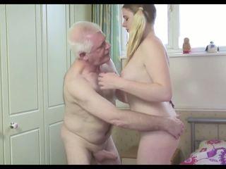 Nxehtë i vjetër njeri n i ri bushtër