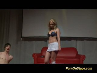 ideal blondes porn, you striptease tube, great dance thumbnail