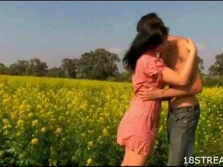 Perverted teen couple banging hardcore...