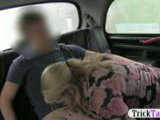 Busty Amateur Chick Agreed To Have Sex For Free Taxi Ride