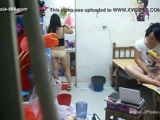 Peeping chinesisch universität dormitory und bathroom.2