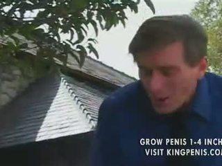 热 红发 青少年 kitty marie plowed 由 旧的 男人