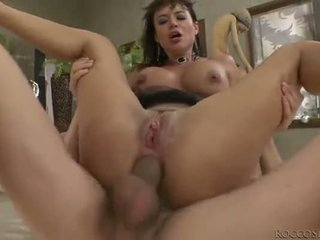 Franceska jaimes double ก้น penetration