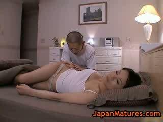 성숙한 bigtit miki sato 자위 에 침대 2 로 japanmatures
