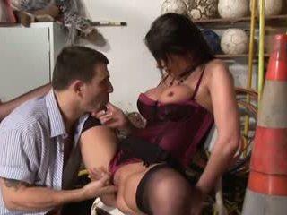 Super Hot MILF Hard Fucked Video