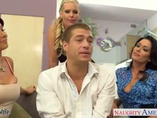 Wives jessica jaymes, phoenix marie and romi udan fuck in fo