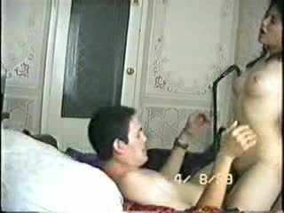 Arabian nghiệp dư plays fucking