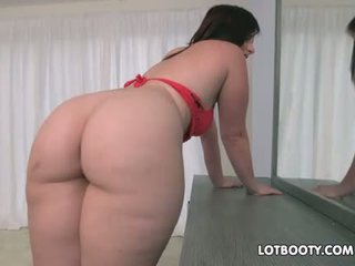 Unreal big butt Virgo Peridot for interracial assfuck