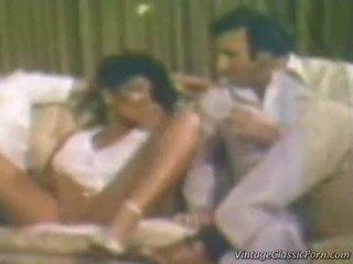 vintage tits busty, retro dâm, quan hệ tình dục retro