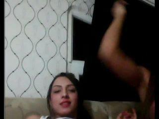 Tureckie tgirls gra z każdy inny na kamera