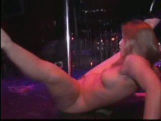 naken, dans, stripper