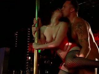 Jen White...Pole Dancing.