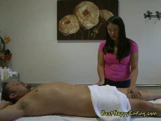 japonec, výstřik, masáž