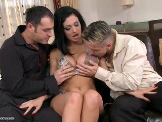 hardcore sex номинално, двойно проникване качество, пресен групов секс