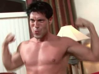 Brad Star fucks hot muscular Latino b-y.