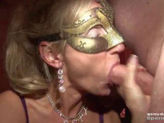 Spermë në gojë & creampies - natascha dhe luna - part2.