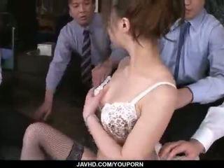 Aiko hirose gets fucked lược qua tất cả cô ấy văn phòng colleagues