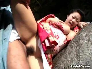 Chichihime in ji slepar znotraj bizarno igra vlog odprta zrak fukanje
